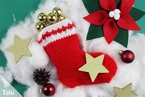 Artikel Vor Weihnachten : nikolausstiefel h keln kostenlose anleitung f r anf nger ~ Haus.voiturepedia.club Haus und Dekorationen