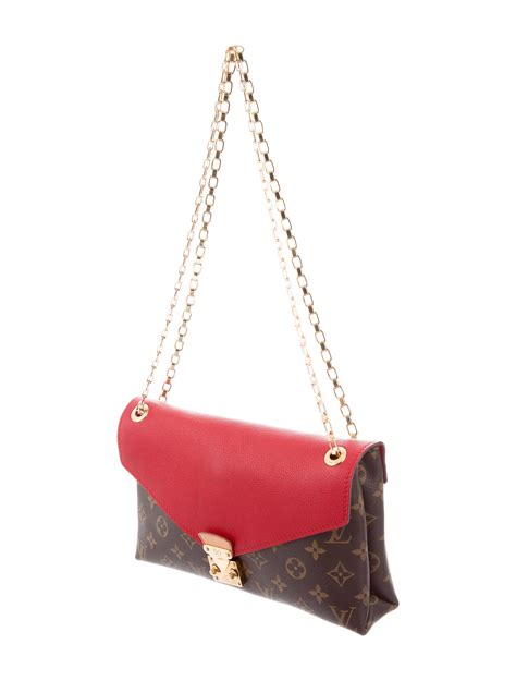 louis vuitton monogram pallas chain bag handbags