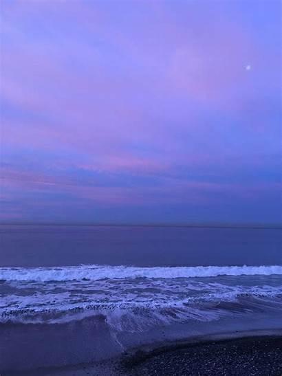 Water Aesthetic Calm Wallpapers Purple Manzara Kaynak