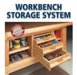 Under Bench Tool Storage by I Could Totally Use This Storage Under My Workbench