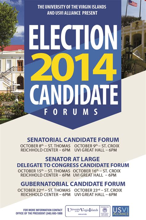 Election Candidate Forums