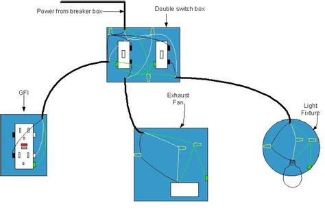 electrical diagram  bathroom bathroom wiring diagram    desk home electrical