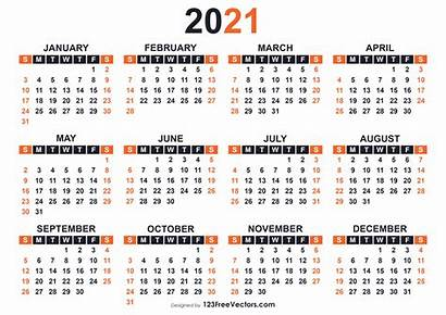 Calendar Printable 2021 Templates 123freevectors