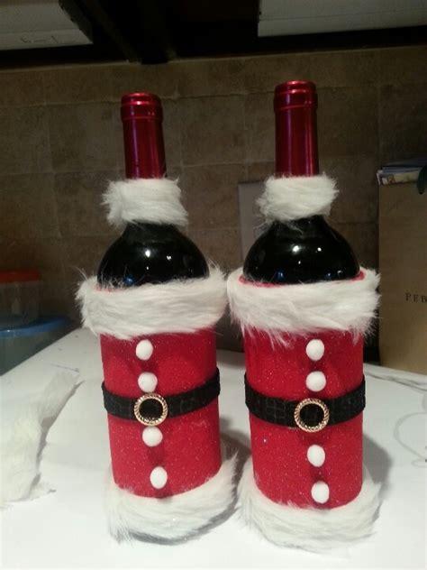 christmas santa wine bottle craft books worth reading pinterest