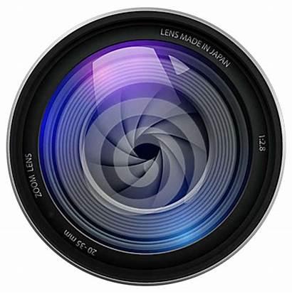Lens Camera Dslr Transparent Cameras Background Icon