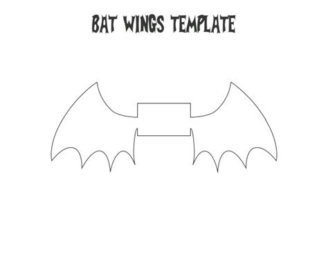 Toilet Paper Roll Bat Wing Template toilet paper bat instructions