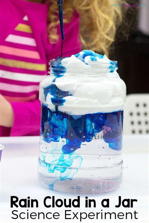 rain cloud   jar science experiment  printable