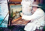Privately-Owned Winston Churchill Paintings on View in ...