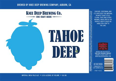 Image result for knee deep tahoe deep imperial ipa