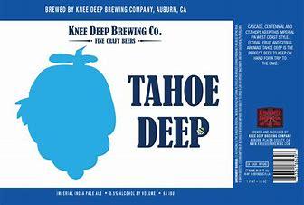 Image result for knee deep tahoe deep imperial ipa
