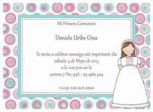 Invitación Daniela Uribe Ossa Papel Pintado
