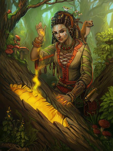 Fantasy illustration on Behance