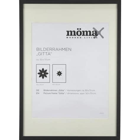 bilderrahmen nur glas bilderrahmen gitta ca 50x70cm in schwarz kaufen m 246 max