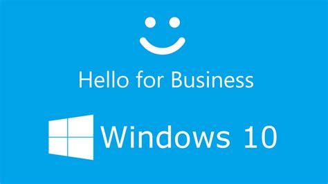 Windows 10  Windows Hello for Business  Key based