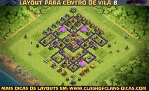 Layouts De Centro De Vila 8 Para Clash Of Clans Clash Of