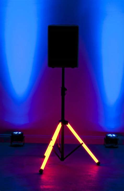 american dj light stand parts adj audio csl 100 led light up speaker stand agiprodj