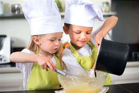 Boost Your Child's Confidence And Health Benefits When They Cook In The Kitchen