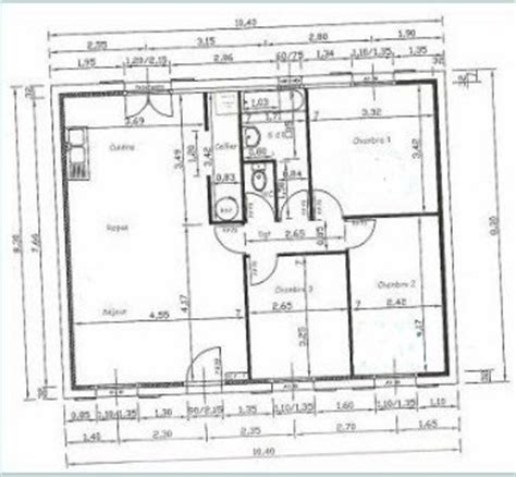 plan int 233 rieur de notre maison de mikit gradignan maison17