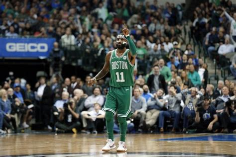 kyrie irvings  points remarkable shot making pushes