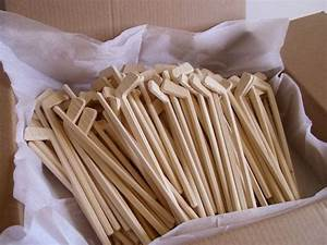 Lot Of 100 Natural Wood Mini Hockey Player Sticks DIY