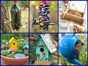 30 Simple DIY Bird House Ideas - DIY Garden Decoration