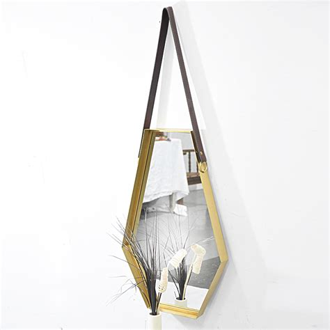 vintage antique metal wall hanging home decoration mirror