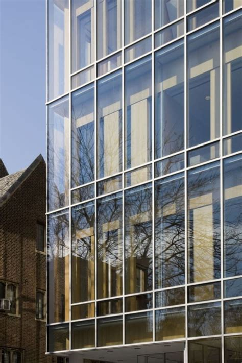 stunning glass facade building  architecture concept