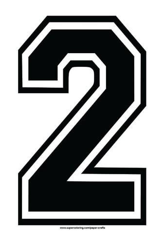 black football shirt number  template  printable