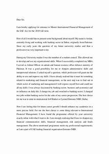 cover letter for applying for master degree - motivation letter to study master degree cover letter