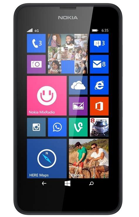 nokia lumia 635 4g windows phone sim free smartphone 8gb storage black c