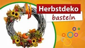 Herbstdeko Selbst Gemacht : herbstdeko basteln t rkranz herbst selber machen trendmarkt24 youtube ~ Orissabook.com Haus und Dekorationen