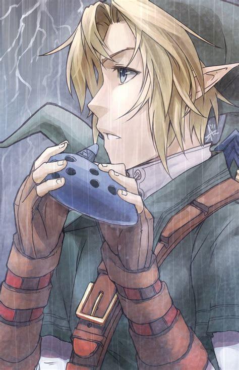 The Legend Of Zelda Fan Art Link Ocarina Of Time If