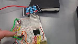 Matrix Keypad With 7 Segment Display
