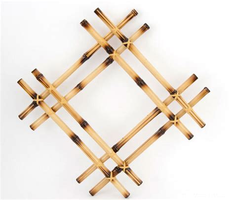 DIY bamboo wall decor ideas - 2 craft projects with bamboo