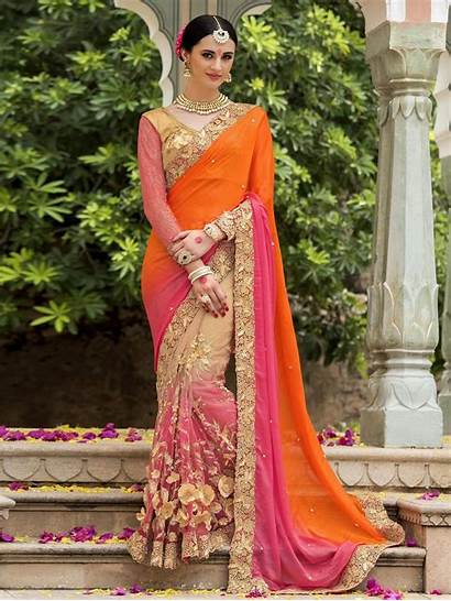 Saree Indian Latest Trends Designs Bridal Blouse