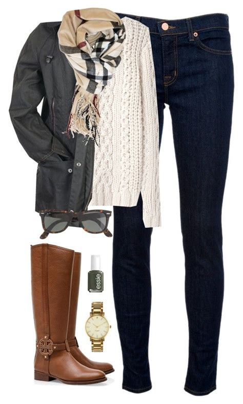 Back to school in the freezing cold! by classically-preppy on Polyvore featuring Band of ...