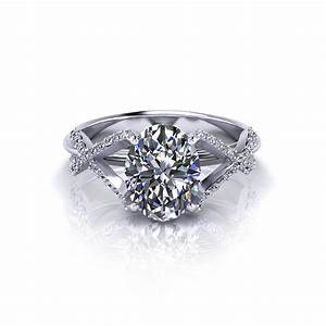crossover oval engagement ring jewelry designs With crossover wedding ring