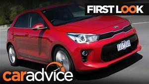2017 Kia Rio First Look Review CarAdvice YouTube