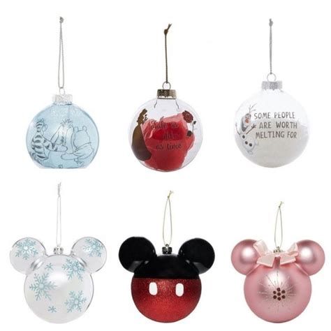 primark  launched disney baubles mickey mouse minnie
