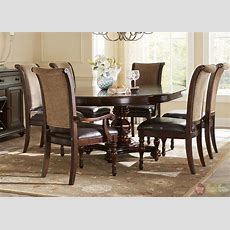 Kingston Plantation Traditional Oval Table & Chairs 7 Pc