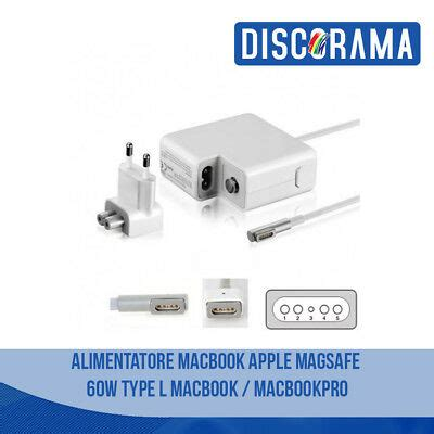 Alimentatore Mac by Alimentatore Magsafe 60w Per Apple Macbook Pro