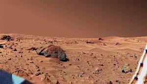 Viking-Aufnahme der Marsoberfläche
