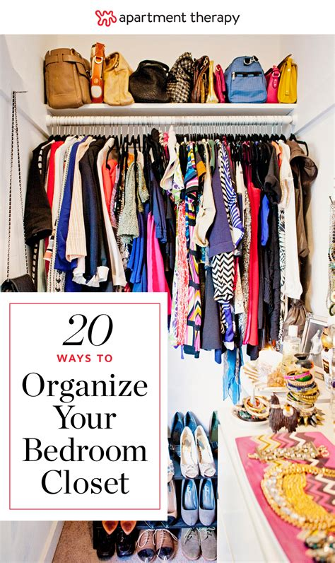 How To Keep Clothes In Cupboard by 20 Ideas For Organizing Your Bedroom Closet Apartment