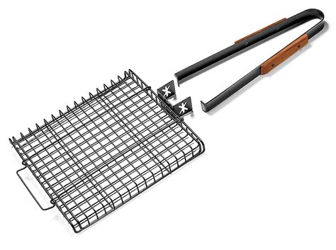 charcoal companion ultimate grilling basket  removable