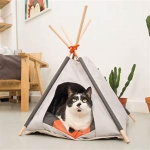 Tipi Pour Chat : tipi mohaki maison pour chat beeztees wanimo ~ Teatrodelosmanantiales.com Idées de Décoration