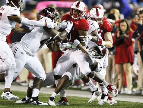 South Alabama-Troy 'Battle for the Belt' football game ...