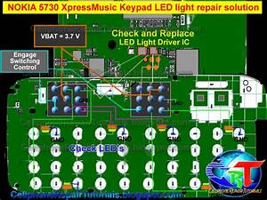 Nokia 5730 Keypad Led Ways