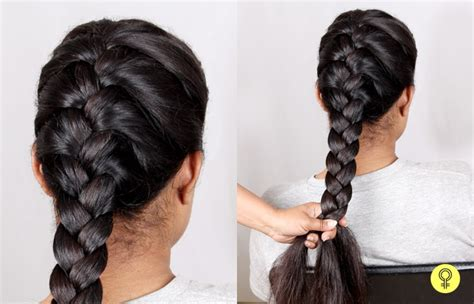 french braid tutorial step  step   tie  french knot