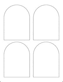 domed top arched labels ol