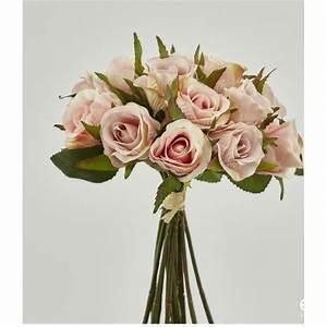 Vase Rond Transparent : bouquet de fleurs centre de table mariage ~ Teatrodelosmanantiales.com Idées de Décoration